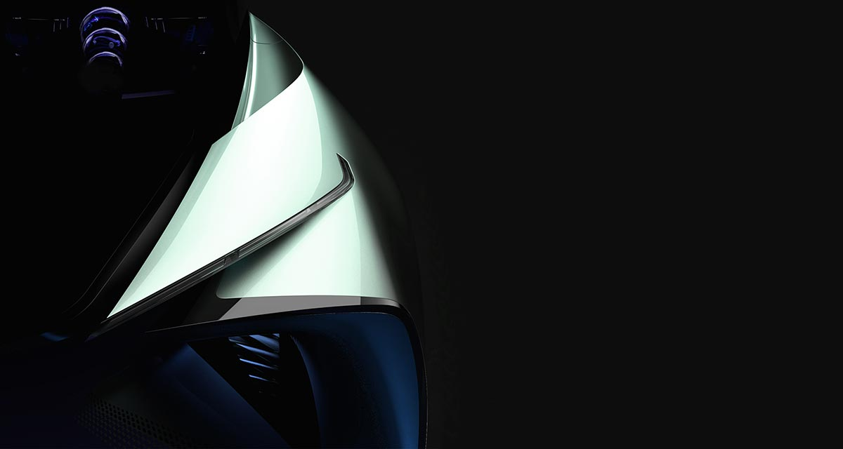 Lexus EV Teaser Image
