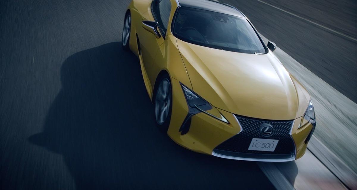 Lexus LC Transforming LC 500GT