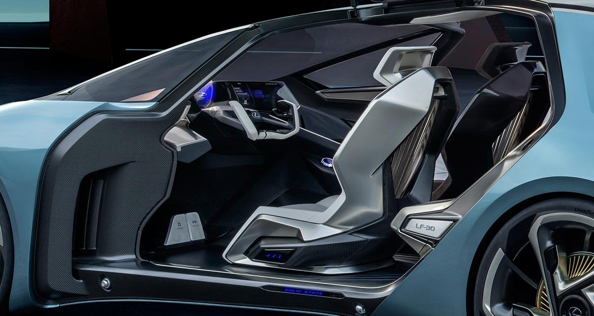 Lexus LF-30 Interior