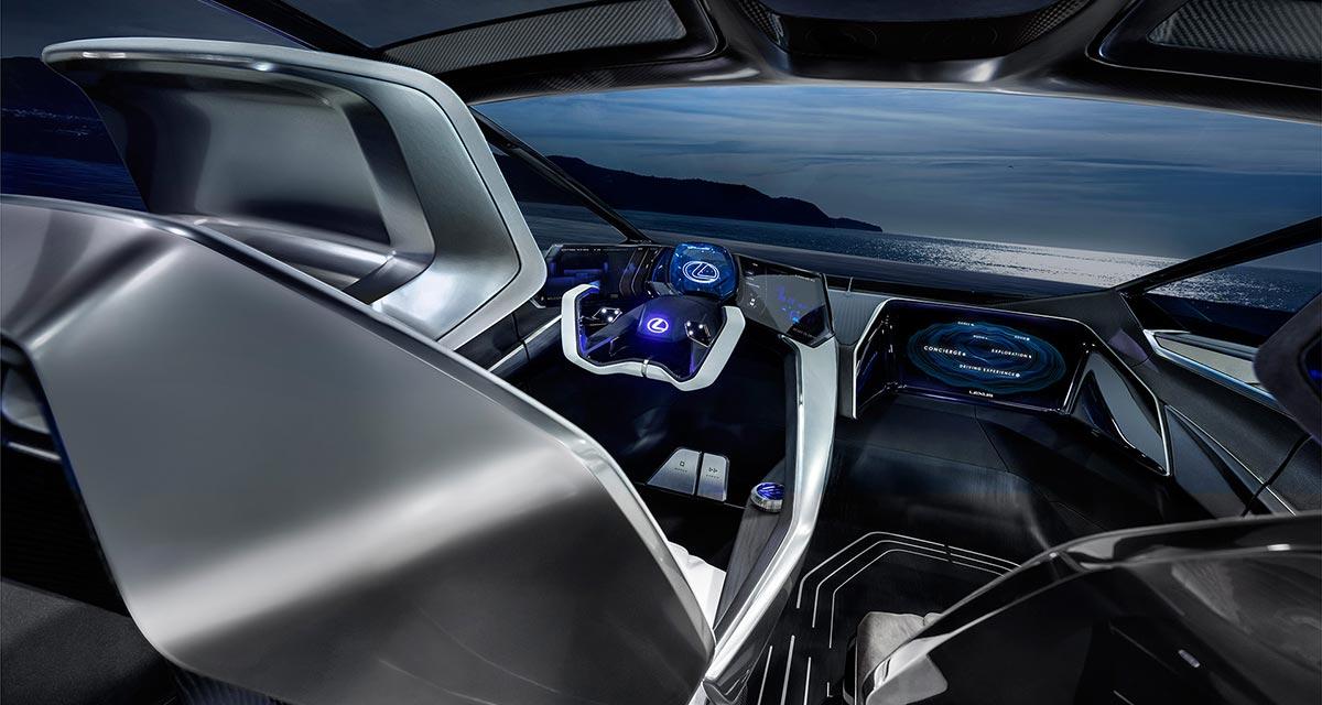 Lexus LF-30 Front Seat