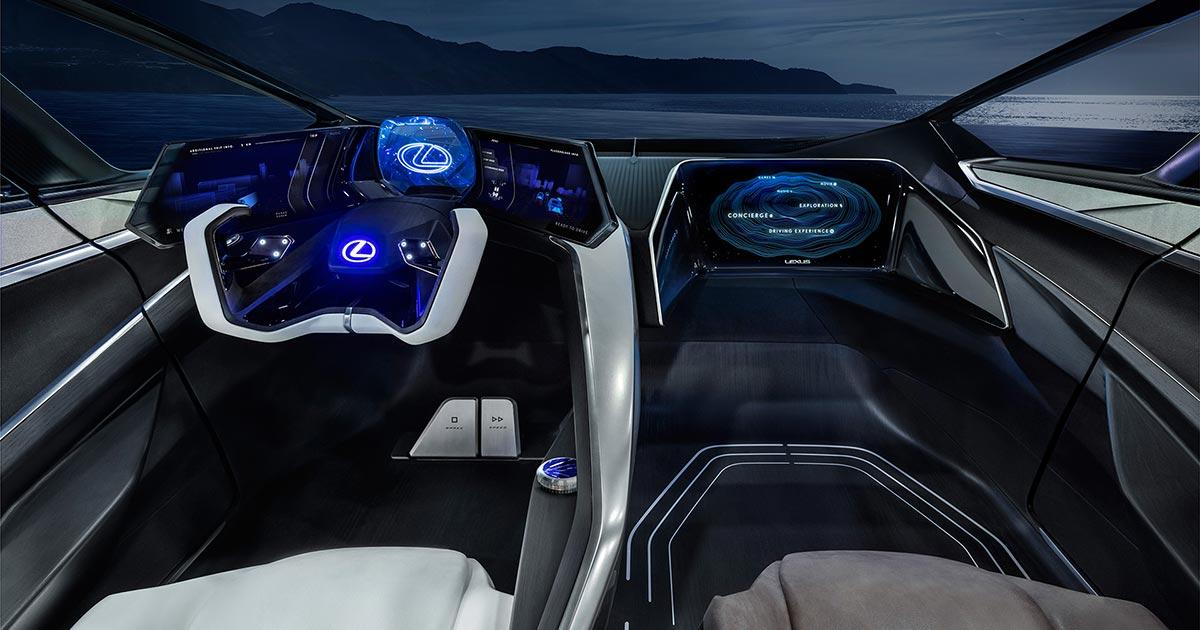 Lexus LF 30 Interior Steering