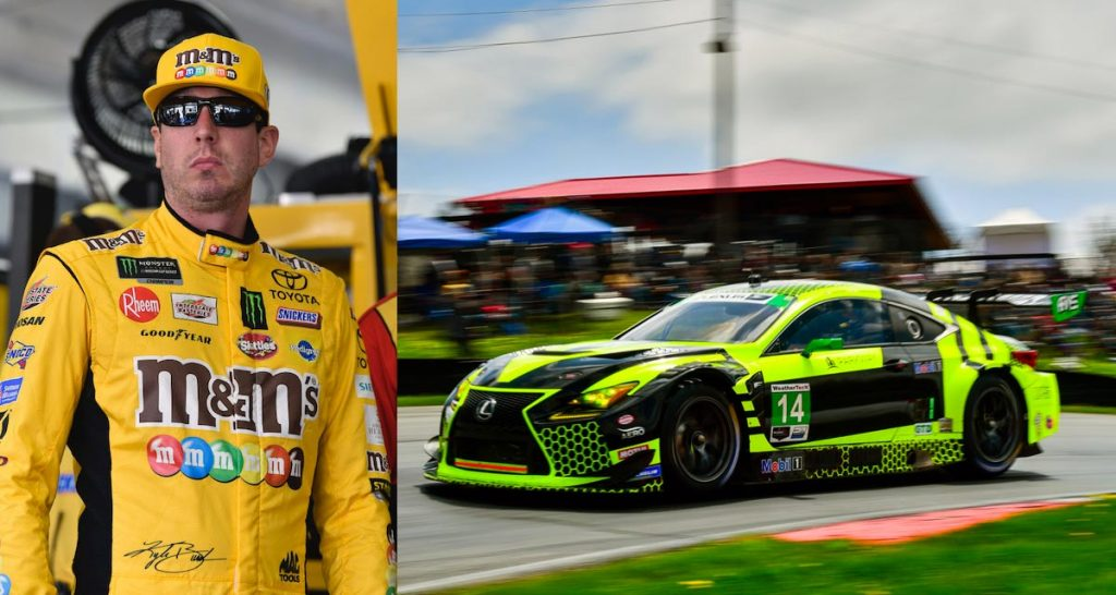 nascar driver kyle busch to join lexus racing team for
