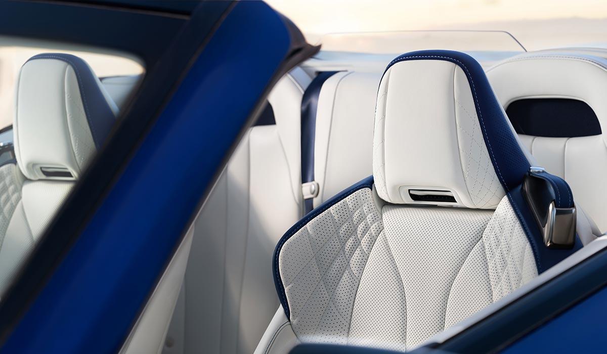 Lexus LC Convertible Driver Seat