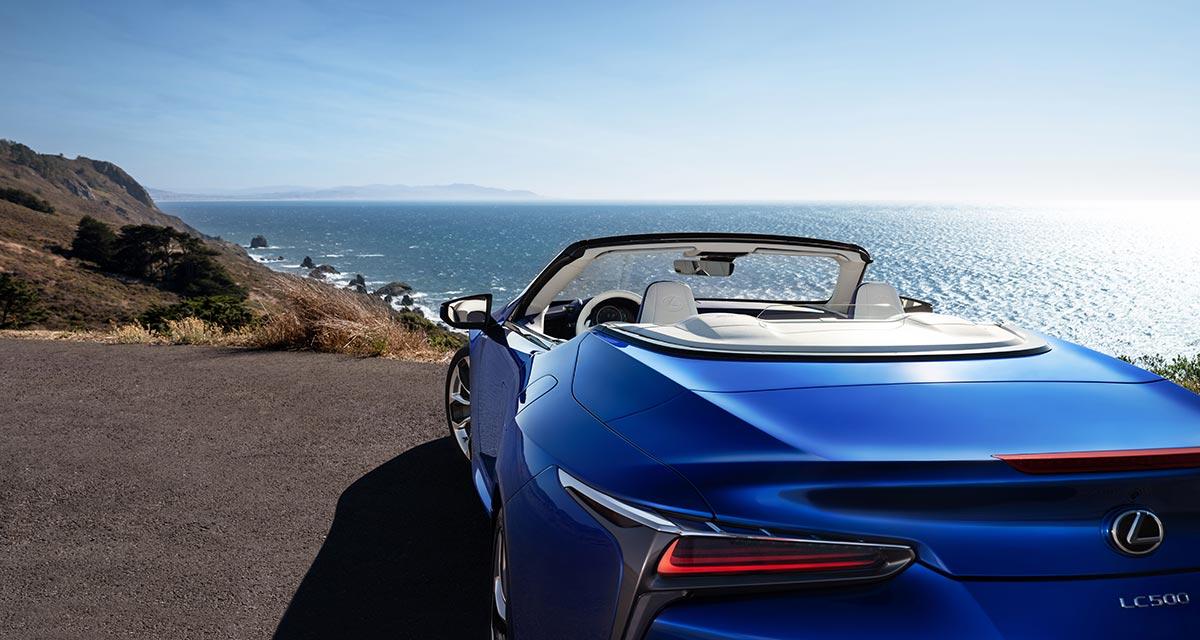 Lexus LC Convertible Glamour
