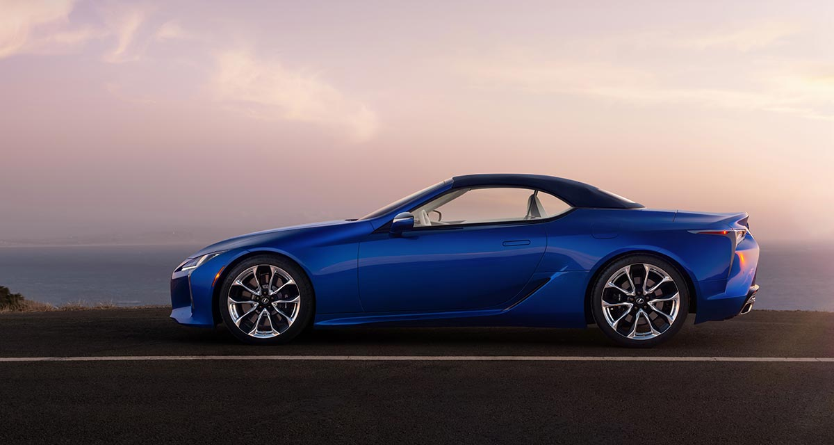 Lexus LC Convertible Side