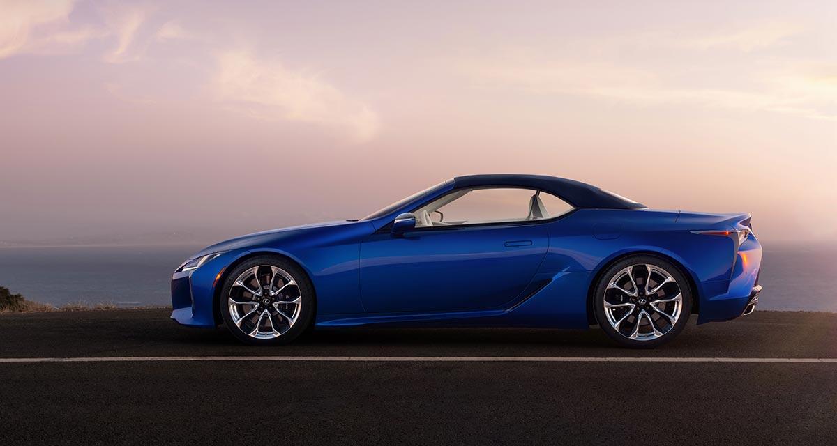 Lexus LC Convertible Side