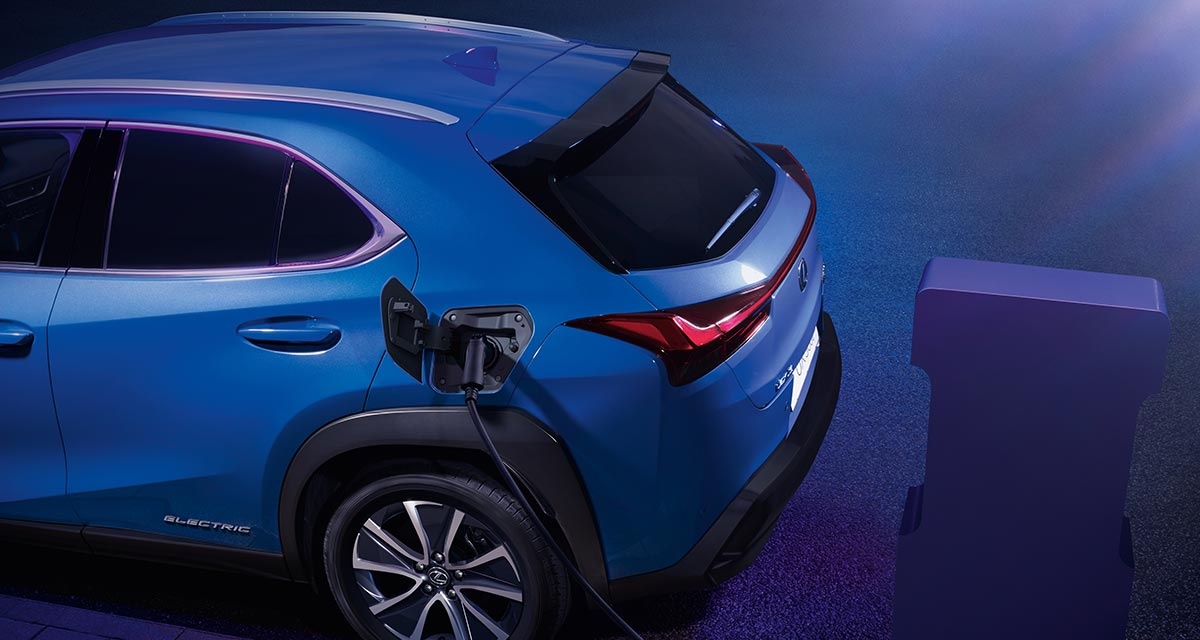 Lexus UX EV Video