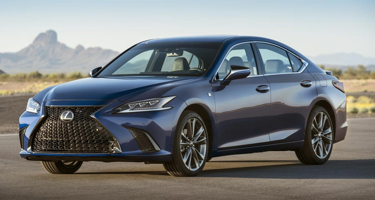 Lexus ES November Sales