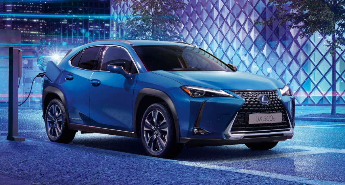 Lexus UX 300e China Debut