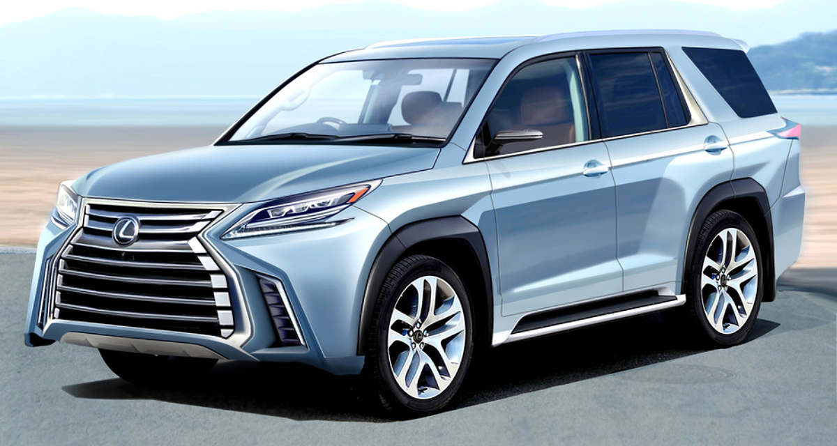 Lexus LX Next-Generation Rendering
