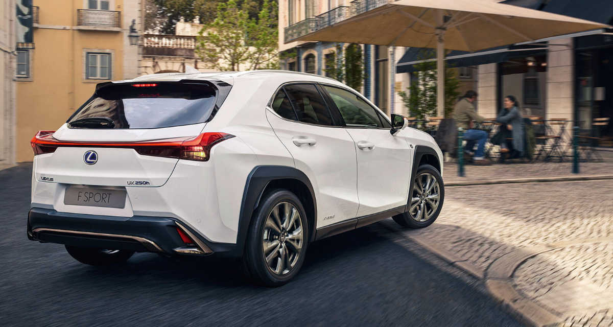 Lexus UX Production Europe