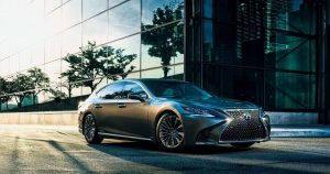 Lexus LS Japan
