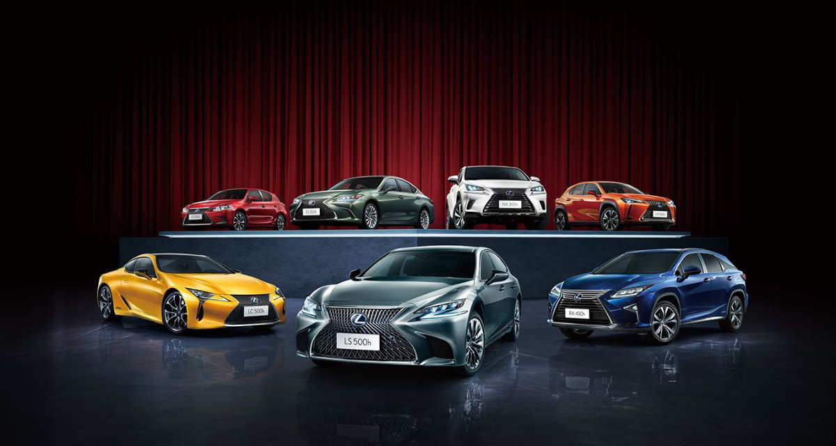 Lexus 2019 China Sales