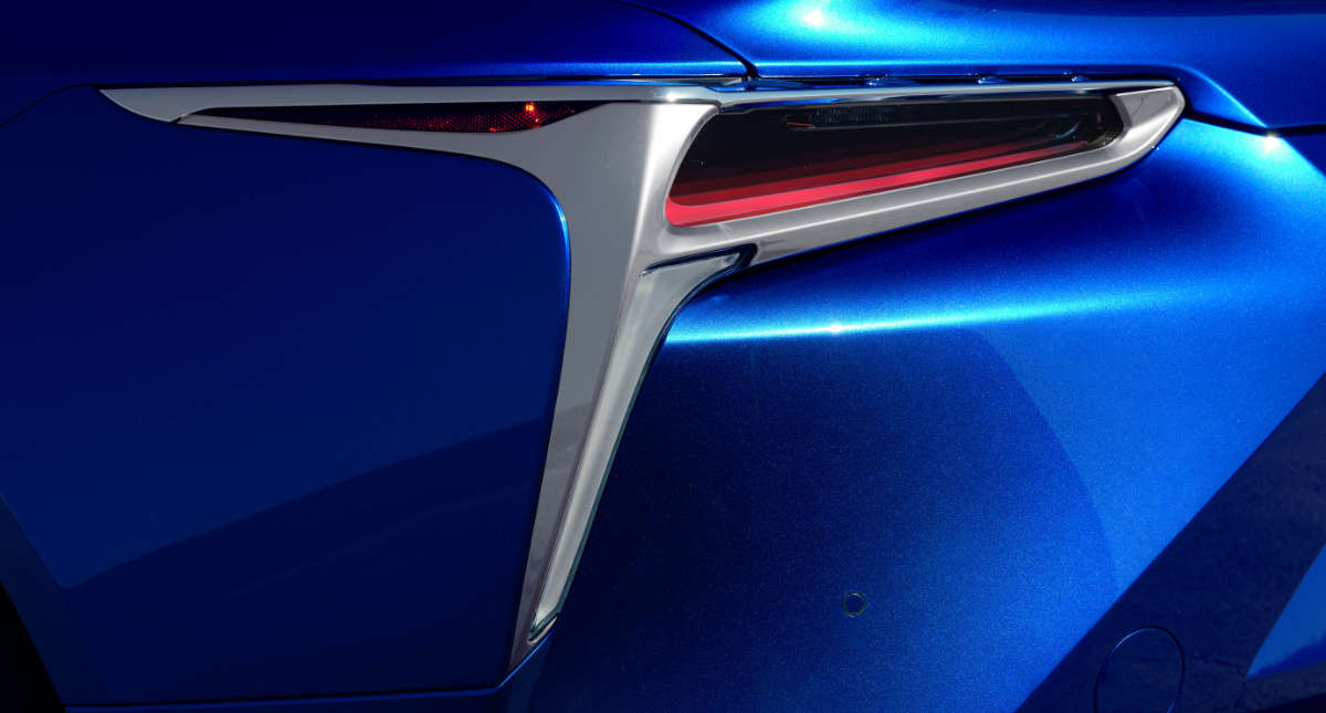 Lexus LC Convertible Auction Taillight