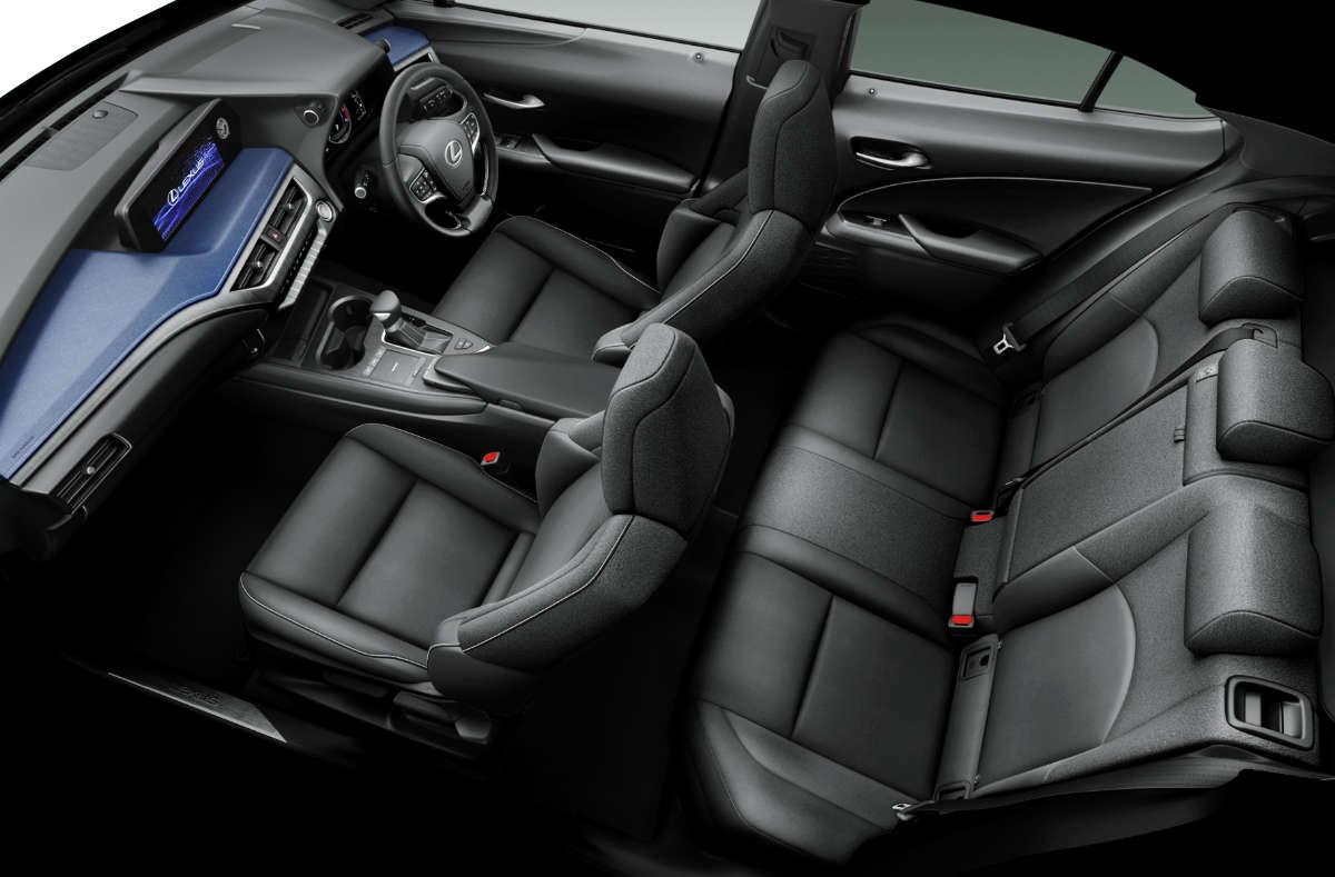 Lexus UX Blue Edition Interior 1