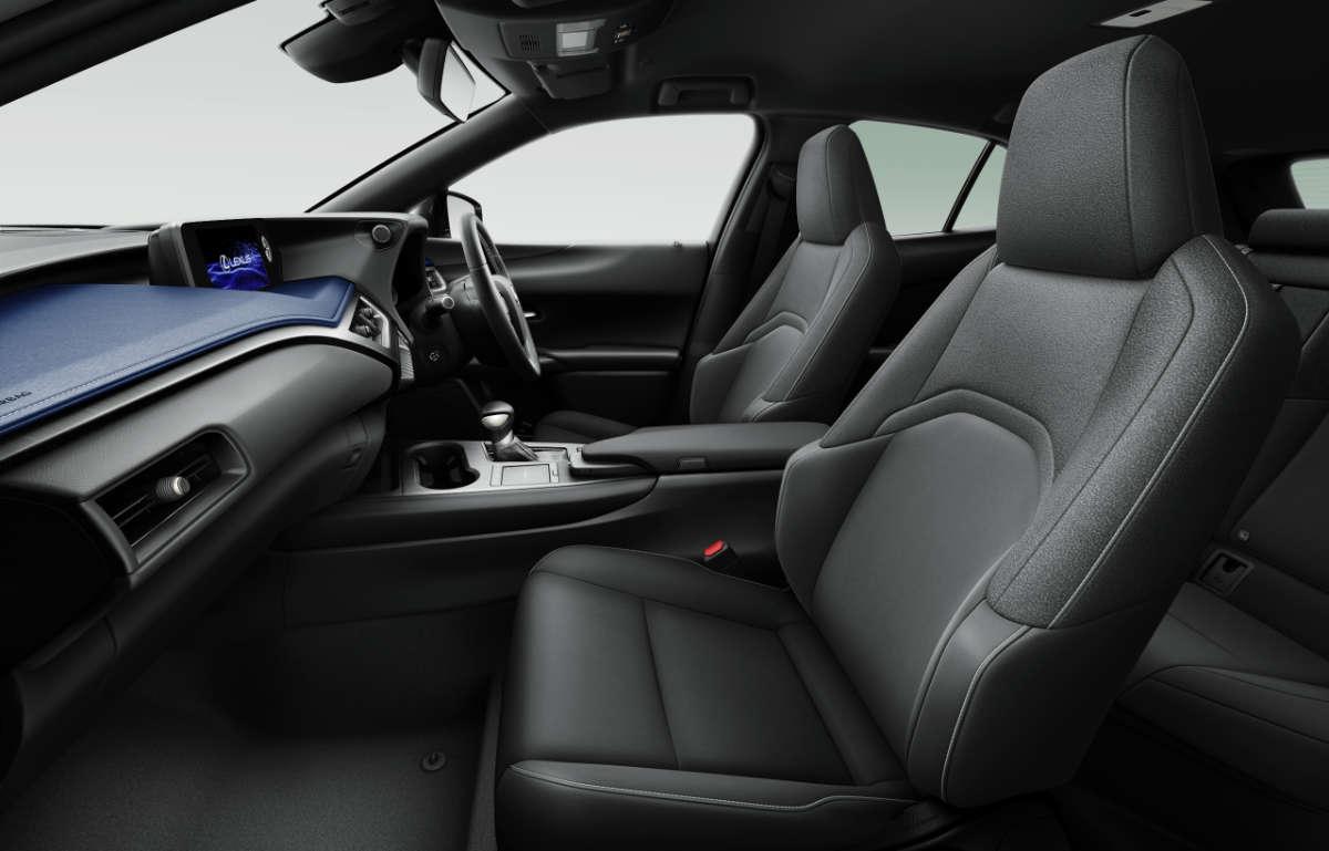 Lexus UX Interior Blue 2