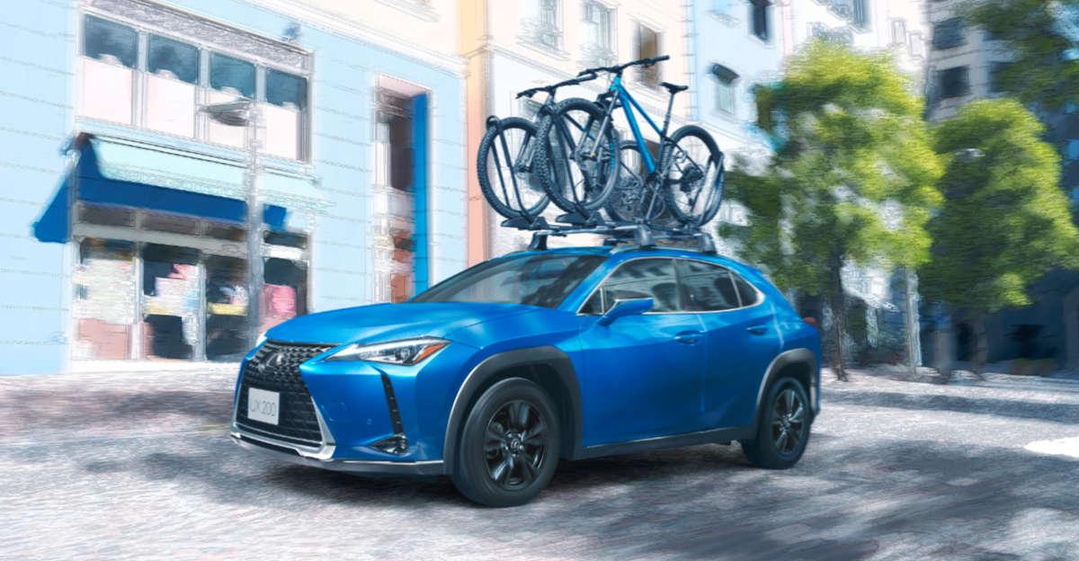 Lexus UX Blue Edition