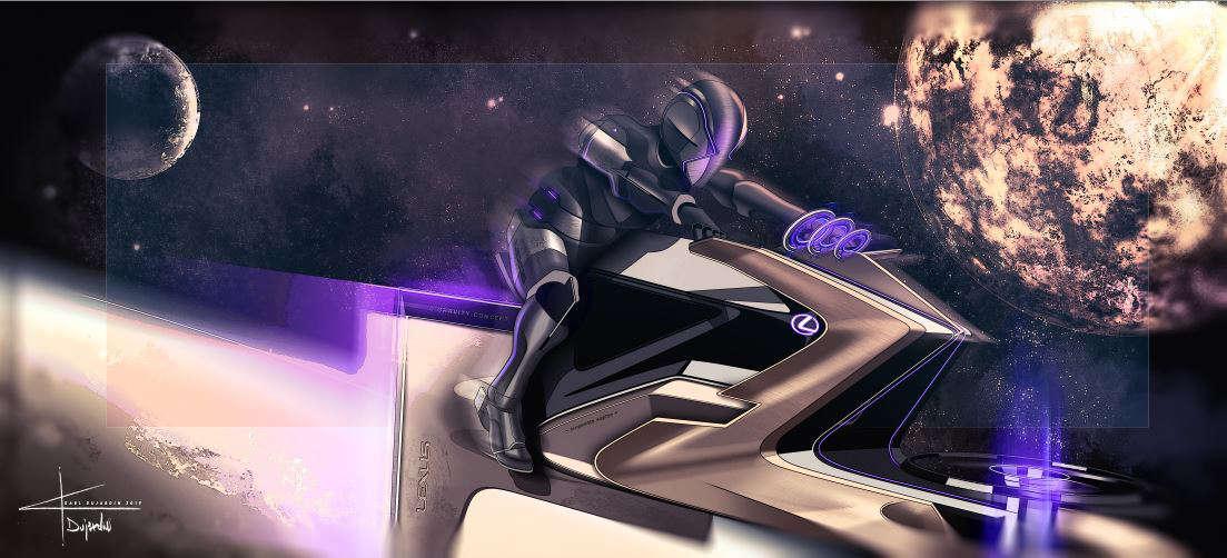 Lexus Zero Gravity Moon Designs