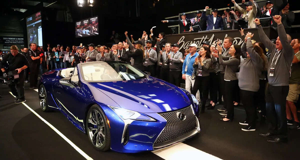Lexus LC Convertible Auction