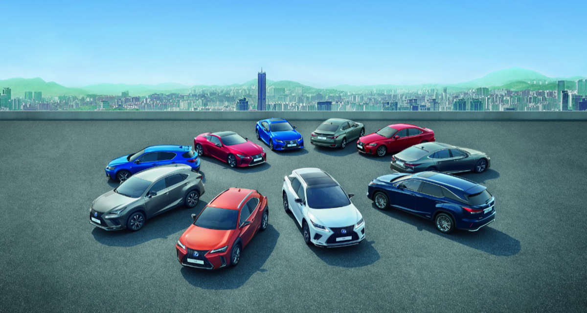 Lexus Global Sales 2019
