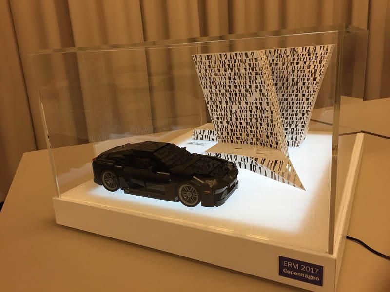 Lexus LFA Display 1