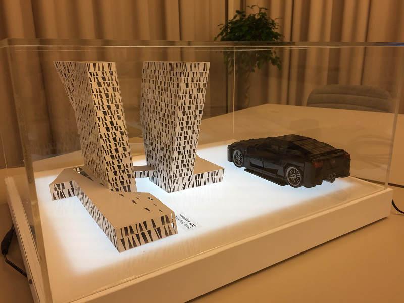 Lexus LFA Lego Display 2