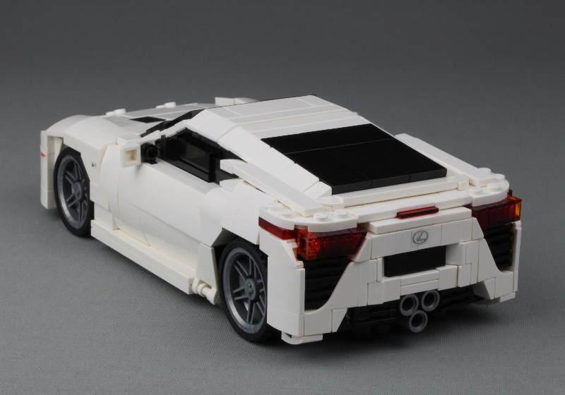 Lexus LFA Lego White