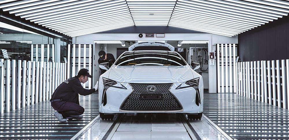 Lexus LC Manufacturing Plant