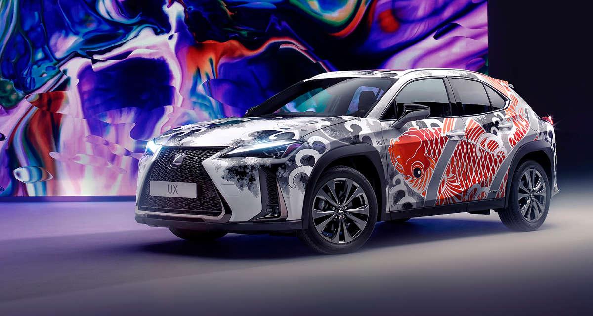 Lexus UX Tattoo