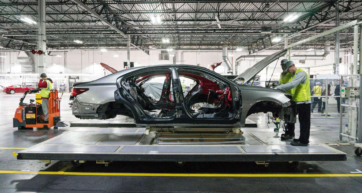 Lexus Manufacturing Shutdown