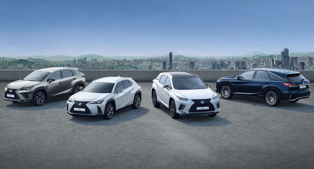 Lexus Hybrids Europe
