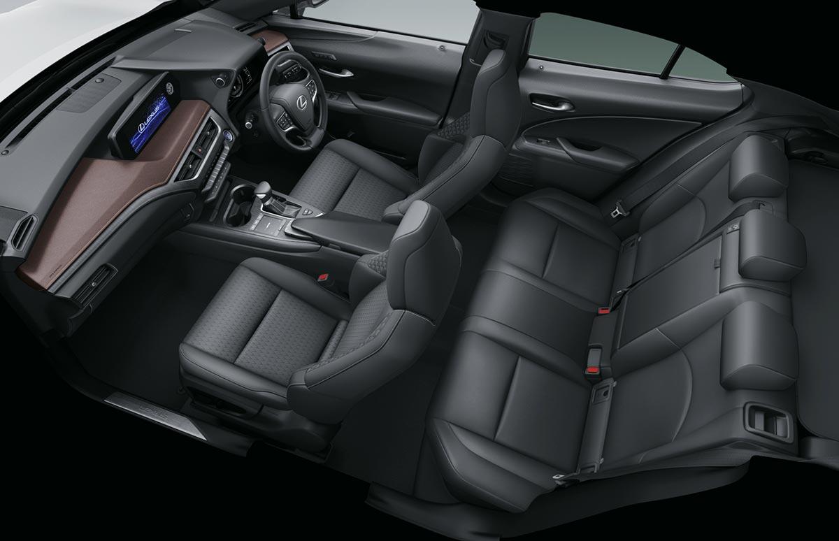 Lexus UX Brown Edition Black