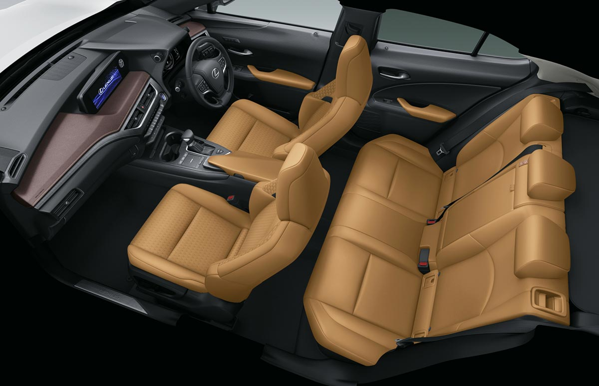 Lexus UX Brown Edition Ocher