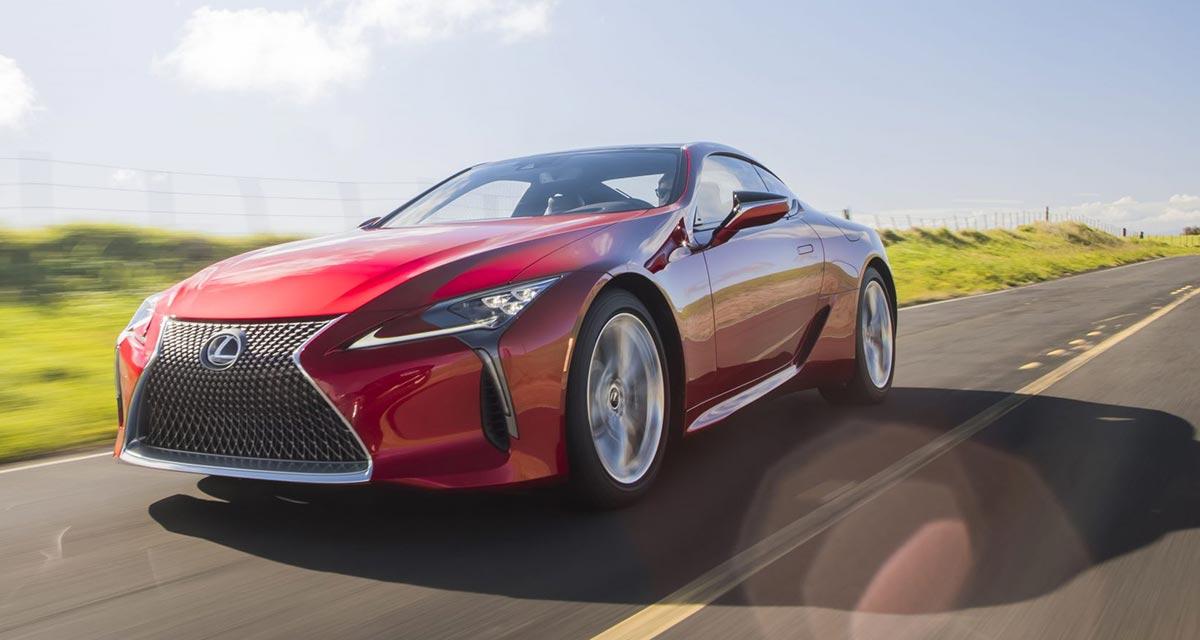 Lexus LC 2021 Update