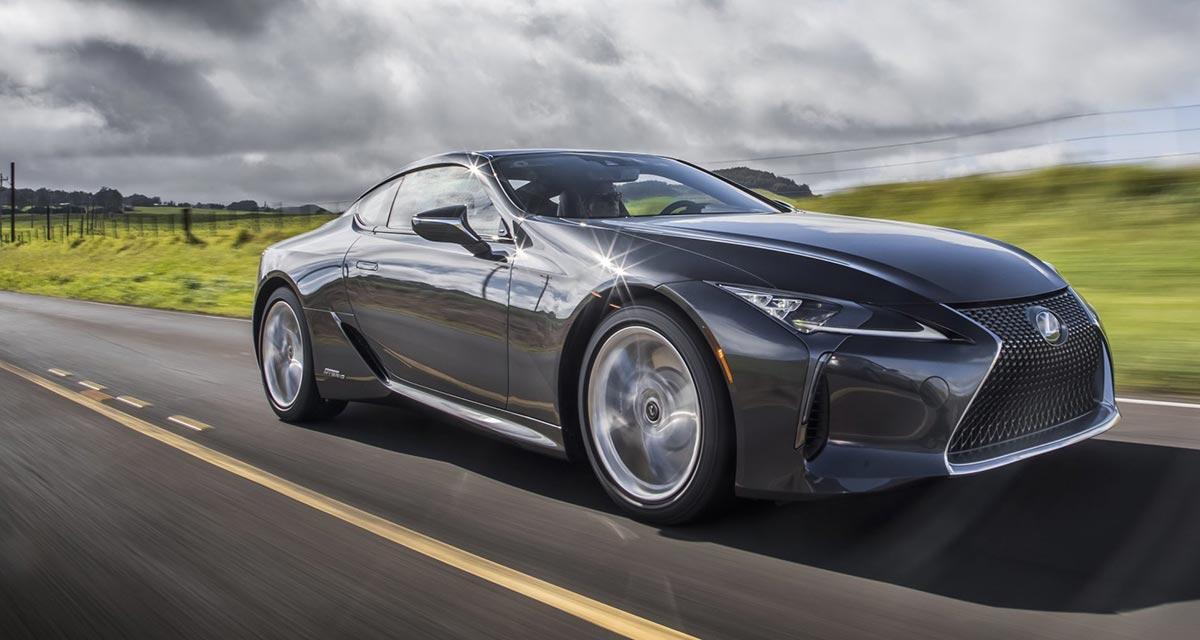 Lexus LC 2021 Grey
