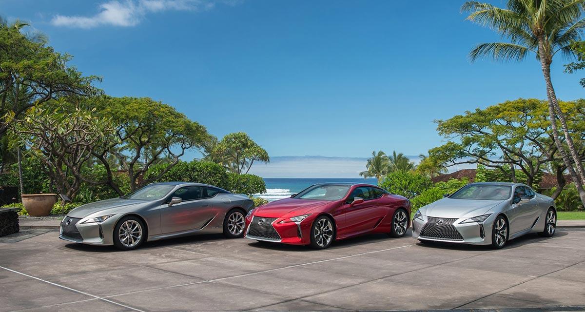 Lexus LC Group Shot