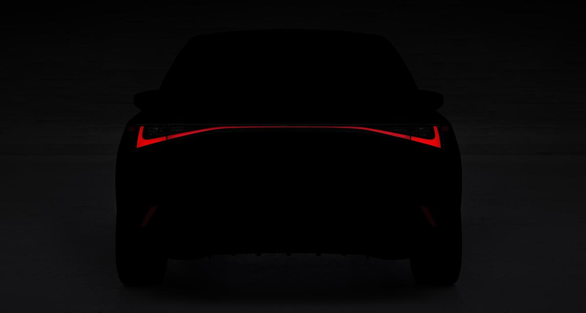 Lexus IS Teaser 2021