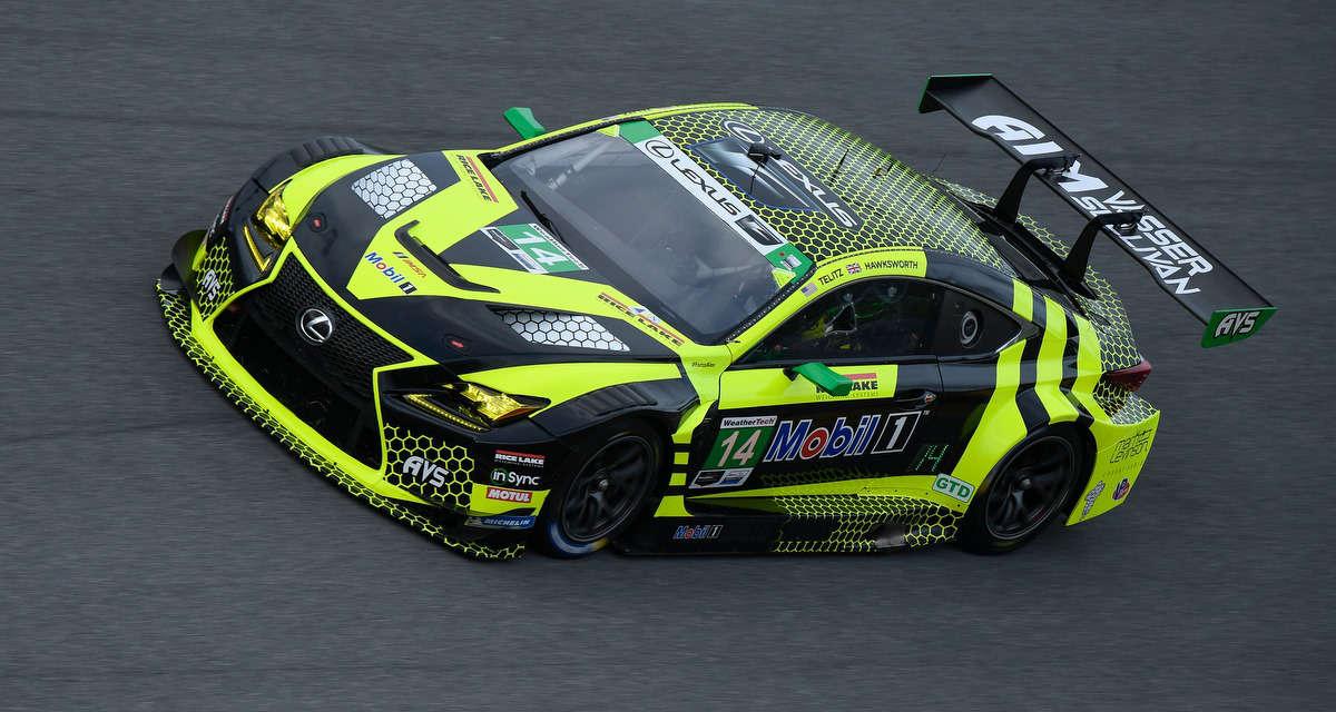Lexus RC F GT3 Racing Daytona