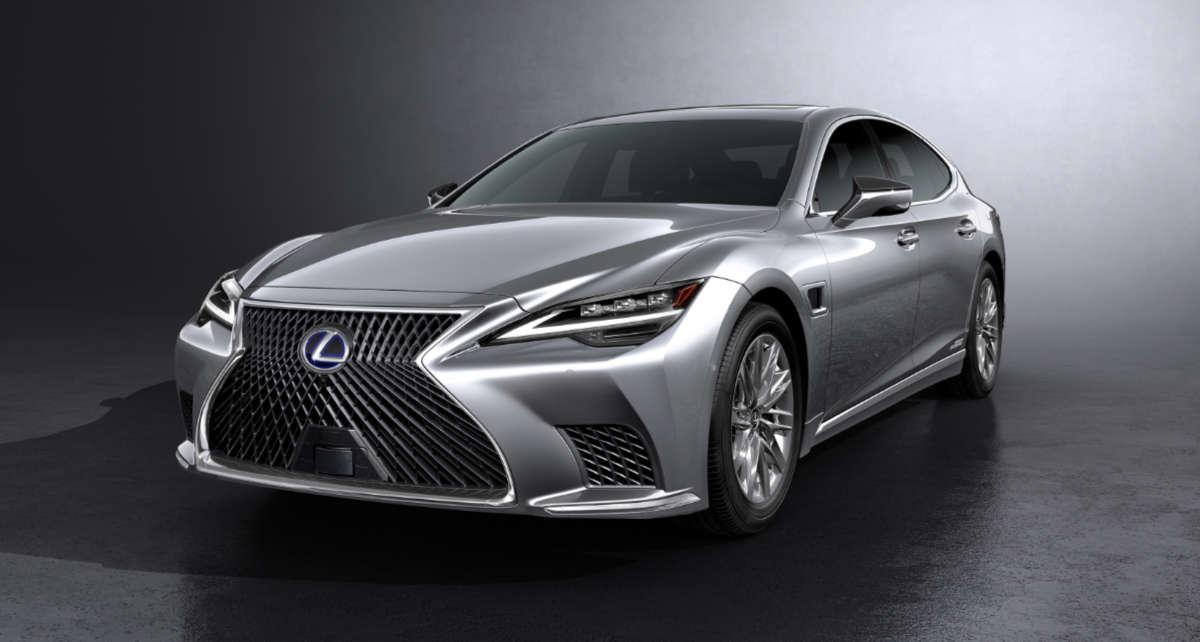 Lexus LS 2021 Refresh