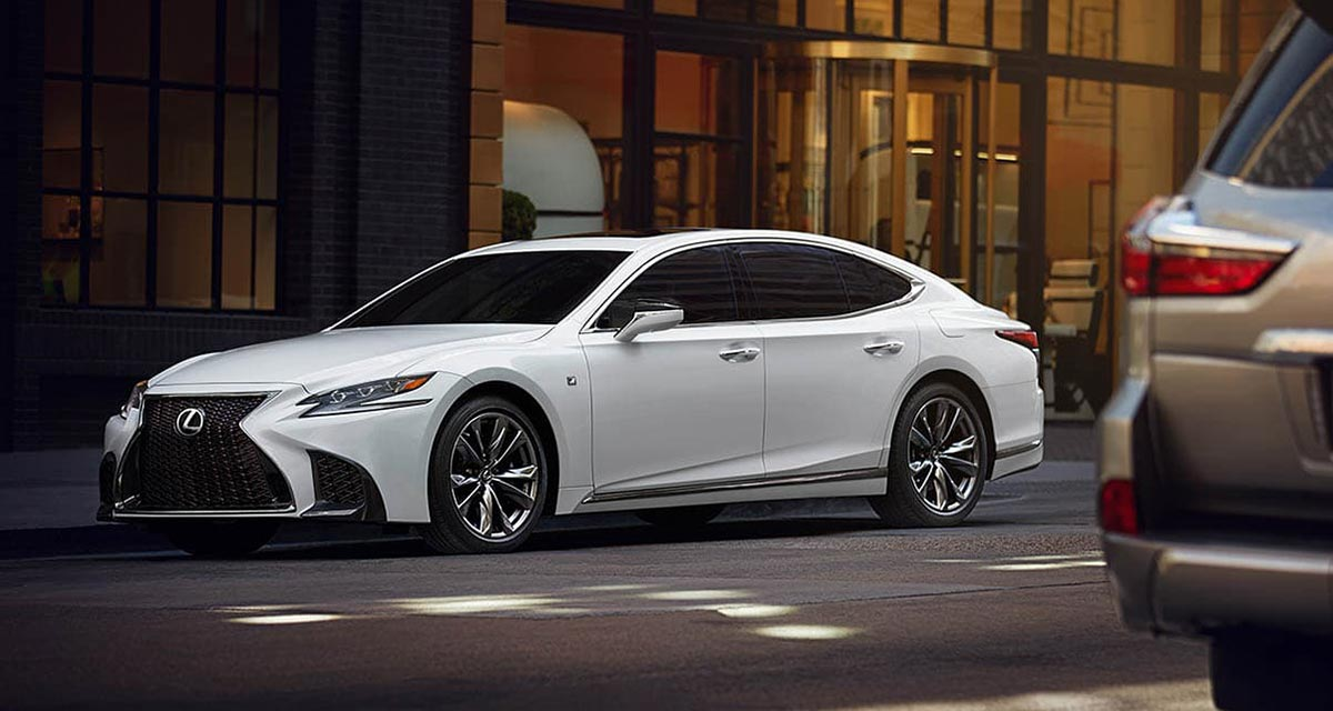 Lexus JD Power 2020 LS