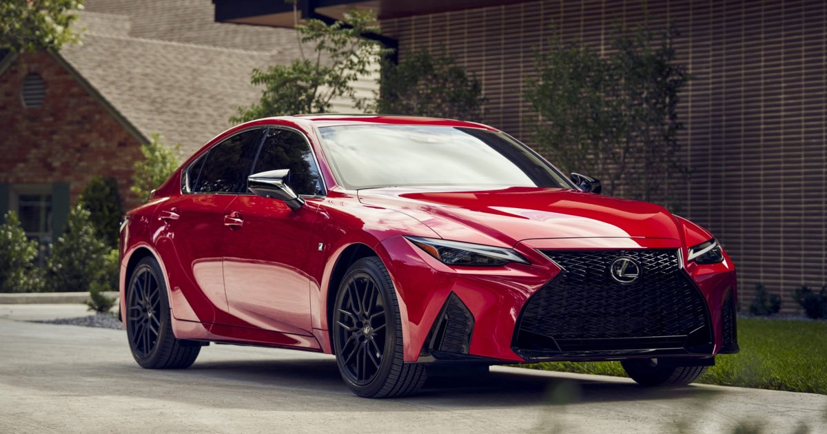 Lexus IS F SPORT Hero