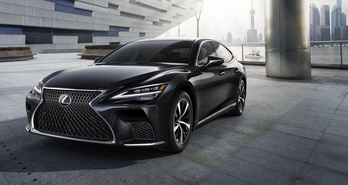 Lexus LS 2021 Hero
