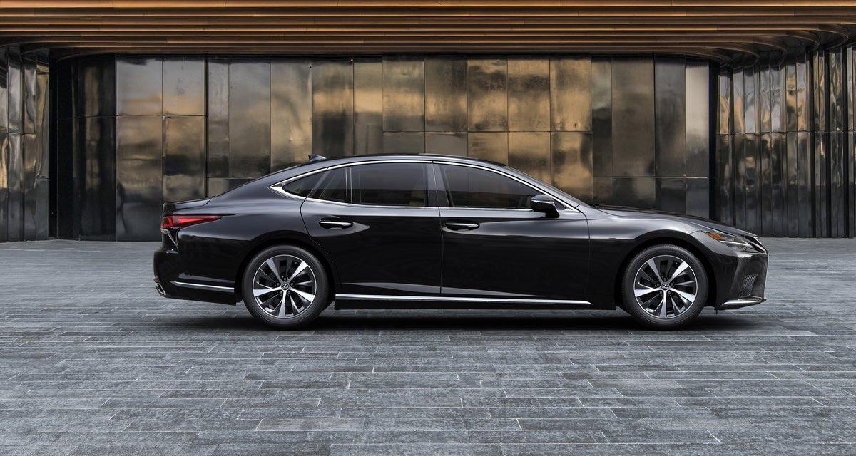 Lexus LS 2021 Side Profile