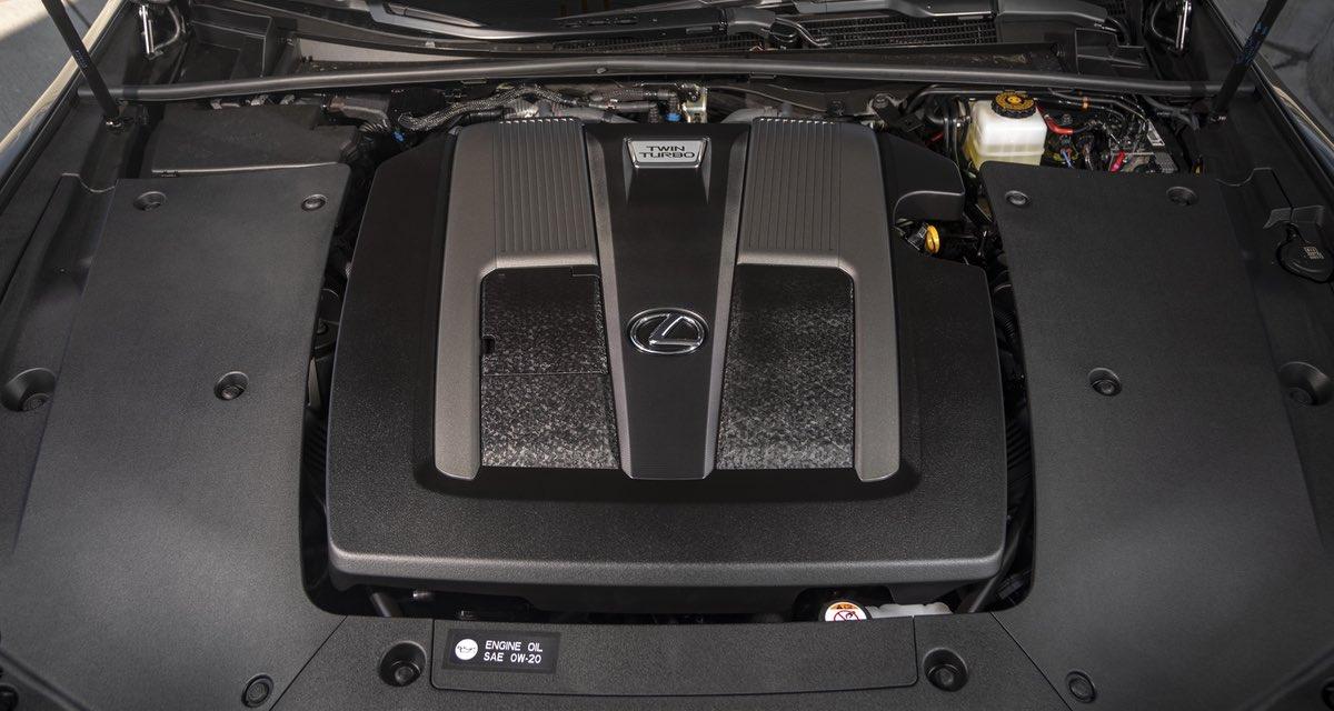 Lexus LS Engine