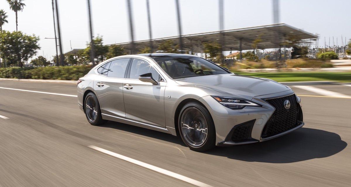 Lexus LS F SPORT 2021