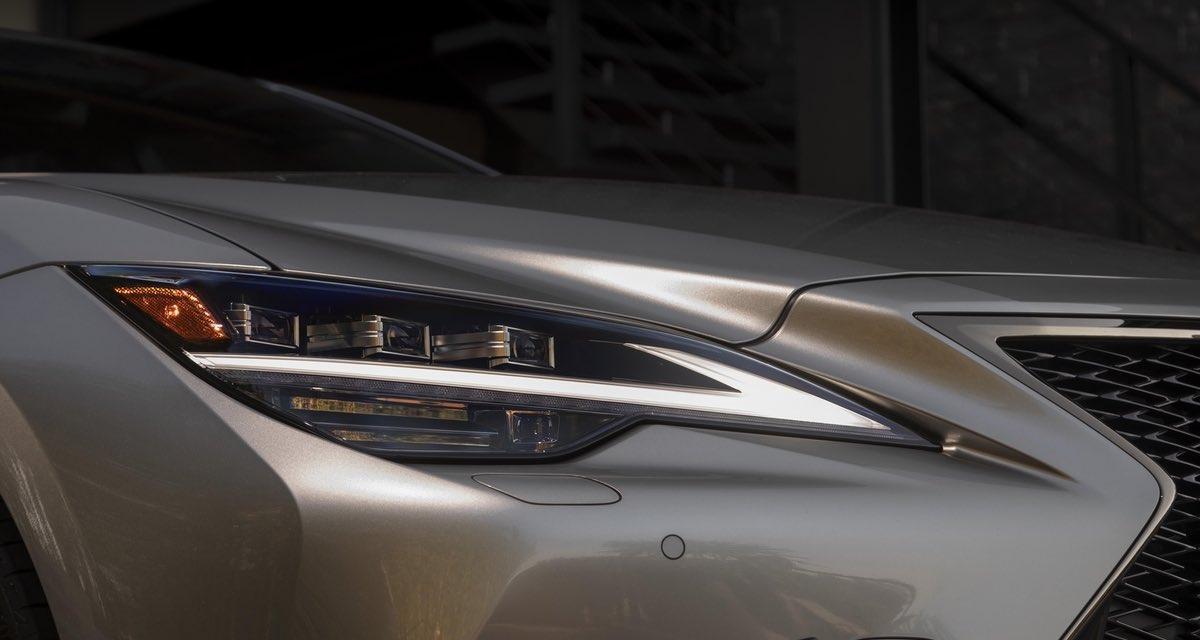 Lexus LS Headlights