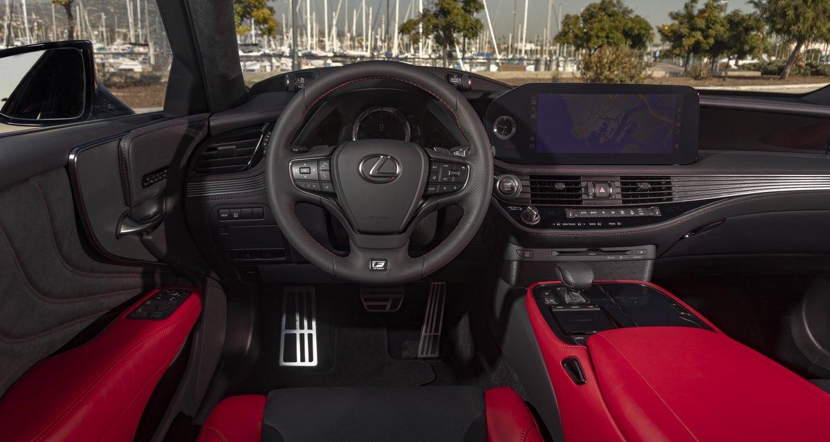 Lexus LS Interior 2021