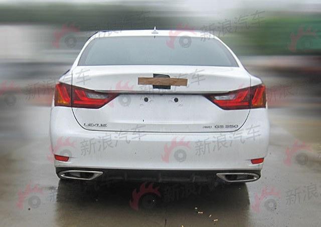 2013 Lexus GS 350 AWD Rear