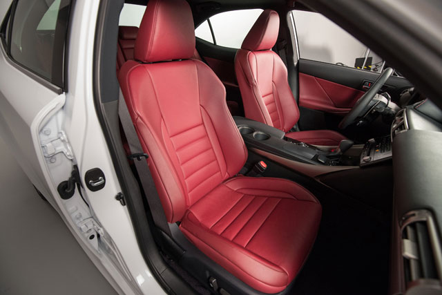 2014 Lexus IS Front Seats