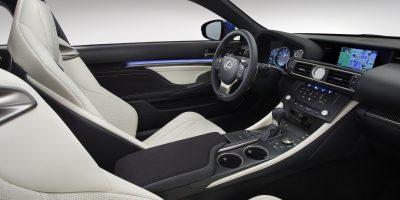 2015-Lexus-RC-F-front-interior